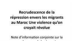 Recrudescence de la répression envers les migrants au Maroc Une violence qu'on croyait révolue