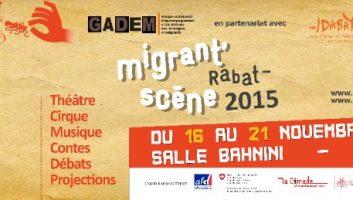 Migrant'Scène – Rabat   6ème édition