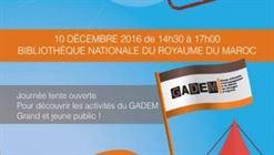 Le GADEM célèbre ses dix ans le 10 décembre 2016