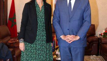 Habib El Malki reçoit la vice-présidente de la commission du développement du Parlement européen