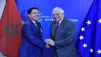Entretien Borrell-Bourita à Bruxelles : renforcer le partenariat Maroc-UE pour faire face aux défis communs