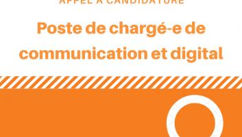 Chargé-e de communication et digital