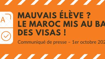 Mauvais élève ? Le Maroc mis au ban(c) des visas !